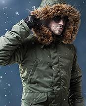第二代龙牙N-3B极地防寒服